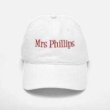 Mrs Phillips Baseball Baseball Cap