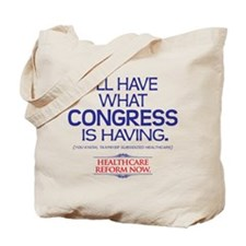 Reform Health Care Tote Bag