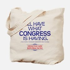 Reform Health Care Tote Bag