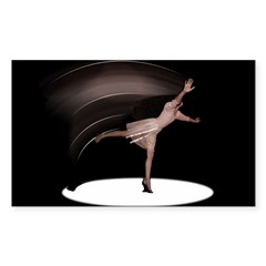 Dance Rectangle Decal