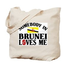 Somebody In Brunei Tote Bag