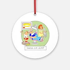Magna Cum Laudi Ornament (Round)