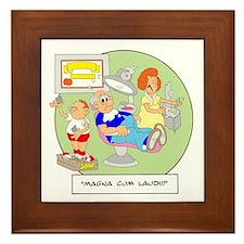 Magna Cum Laudi Framed Tile