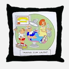 Magna Cum Laudi Throw Pillow