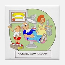 Magna Cum Laudi Tile Coaster