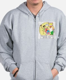 Tell you what ... you count t Zip Hoodie