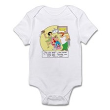 Tell you what ... you count t Infant Bodysuit
