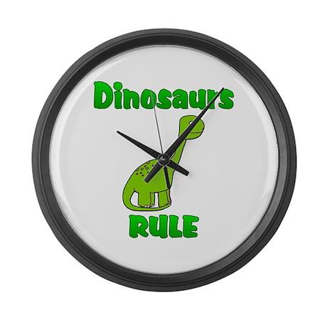 Dinosaur Large Wall Clock