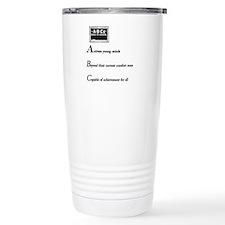 Elementary school principal Travel Mug