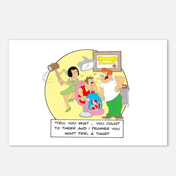 Tell you what ... you count t Postcards (Package o
