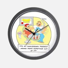 ... anniversary present ... Wall Clock