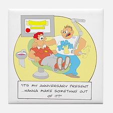 ... anniversary present ... Tile Coaster