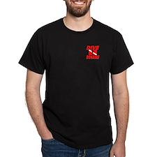 Dive Bonaire (red pocket) T-Shirt
