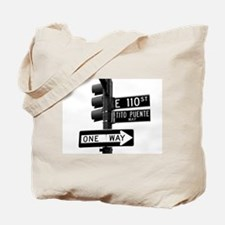 Big Apple Jazz / Tito Puente Tote Bag
