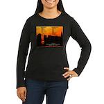 NYC Jazz Clubs Women's Long Sleeve Dark T-Shirt