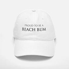 Proud Beach Bum Baseball Baseball Cap
