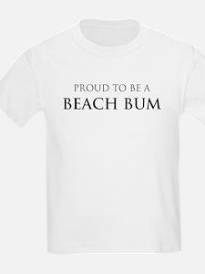 Proud Beach Bum Kids T-Shirt