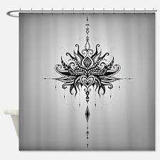 Lotusmandala Shower Curtain