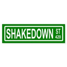 Shakedown Street Bumper Bumper Sticker
