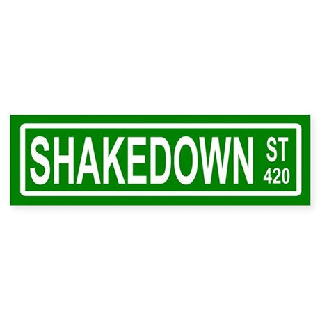 Shakedown Street Bumper Sticker