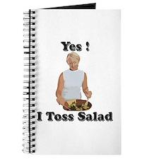 Toss the salad Journal