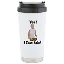 Toss the salad Travel Coffee Mug