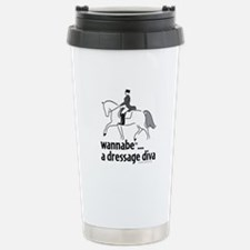 wannabe ... a dressage diva Travel Mug