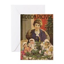 Mary Pickford Christmas Greeting Card