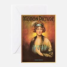 Marion Davies 1919 Greeting Card