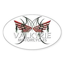 F-6 VALKYRIE GEAR Oval Decal