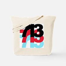 713 Area Code Tote Bag