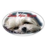 ALAC Rescue Oval Sticker (10 pk)
