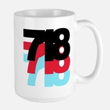 718 Area Code Mug