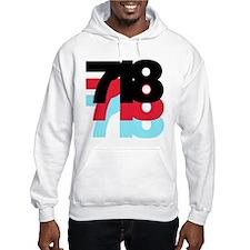 718 Area Code Hoodie
