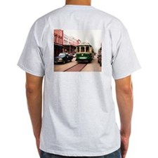 Galveston Island Trolly Car T-Shirt