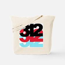 312 Area Code Tote Bag