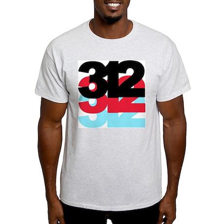 312 Area Code Light T-Shirt