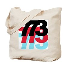 773 Area Code Tote Bag
