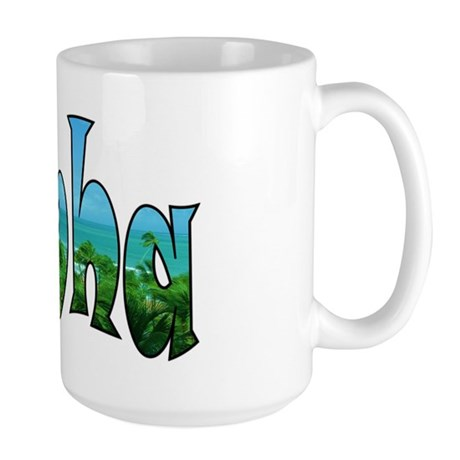 Aloha Large Mug