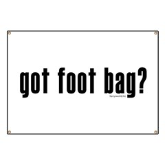 got foot bag? Banner