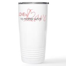 Gay Love is Love Travel Mug