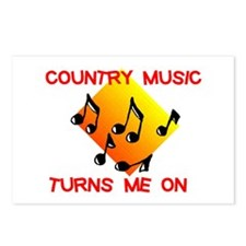 COUNTRY MUSIC RULES Postcards (Package of 8)
