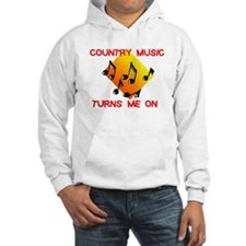 COUNTRY MUSIC RULES Hoodie