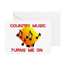 COUNTRY MUSIC RULES Greeting Cards (Pk of 20)