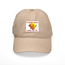 COUNTRY MUSIC RULES Baseball Cap