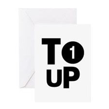 Tee Up Greeting Card