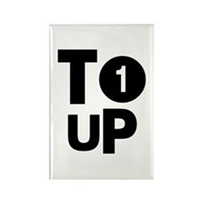 Tee Up Rectangle Magnet