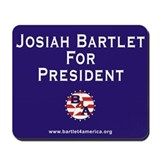 Bartlet for america Classic Mousepad