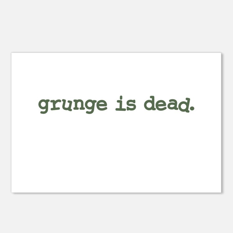 Grunge is Dead Cobain Postcards (Package of 8)