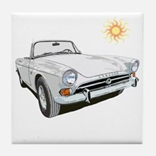 Sunbeam tiger Tile Coaster